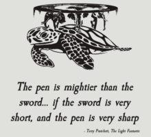 Pratchett Quote #3 by Dominic Taranto