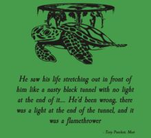 Pratchett Quote #5 by Dominic Taranto