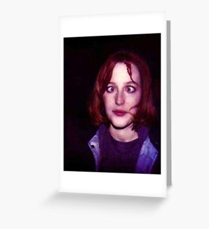 Gillian Anderson Greeting Card