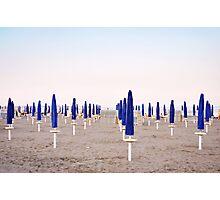 Sun Umbrellas Photographic Print