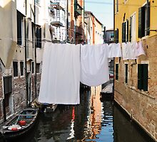 Italian Laundry by Jane Ruttkayova