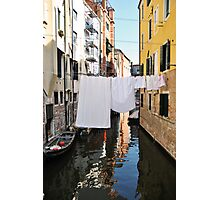 Italian Laundry Photographic Print