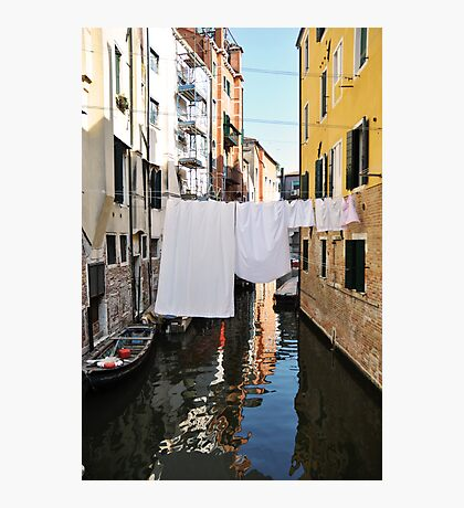 Italian Laundry Photographic Print