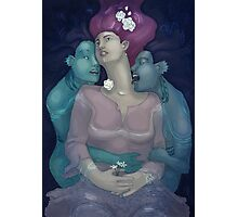 Ophelia and the Naiads Photographic Print