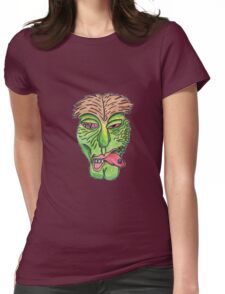 Rave Zombie Womens Fitted T-Shirt
