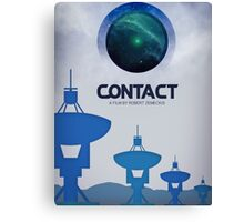Contact Movie Poster Canvas Print