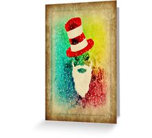 Portrait of a Sleigh Rider Greeting Card