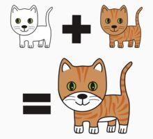 Ginger Cat Math Kids Tee