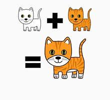 Ginger Cat Math Womens Fitted T-Shirt
