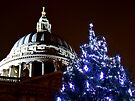 St Pauls Cathederal At Christmas 2 - HDR by Colin J Williams Photography