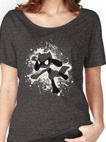 Riolu Splatter Women's Relaxed Fit T-Shirt