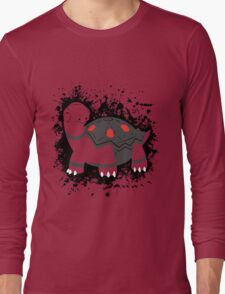 Torkoal Splatter Long Sleeve T-Shirt