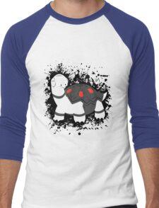 Torkoal Splatter Men's Baseball ¾ T-Shirt