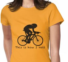 This is How I Roll: Aero Womens Fitted T-Shirt