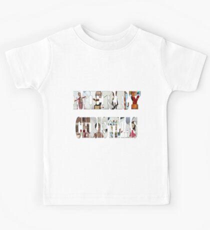 Community Clay Christmas Shirt Kids Tee