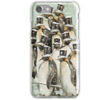 A Gathering in the Snow iPhone Case/Skin