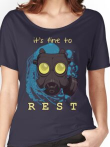 It's fine to rest. Women's Relaxed Fit T-Shirt