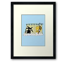 CHEESECHOSIS Framed Print