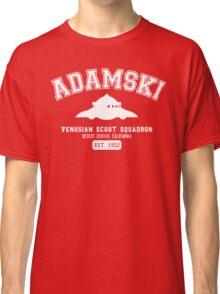Adamski UFO Flying Saucer Squadron Classic T-Shirt