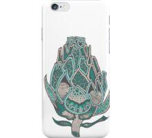 Green Artichoke Flower  iPhone Case/Skin