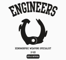 Prometheus Engineers University Xenomorph by NateRossArt