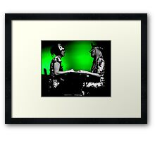 Chicks on Speed Framed Print