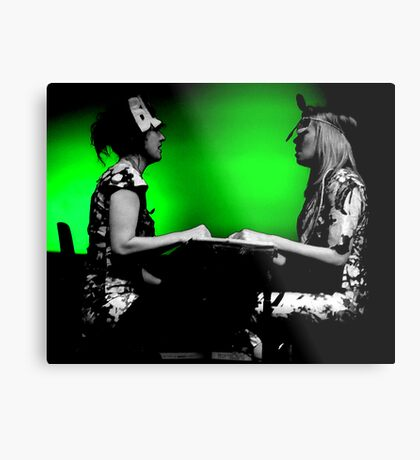 Chicks on Speed Metal Print