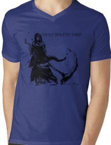 Priscilla Mens V-Neck T-Shirt