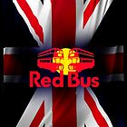 Red Bus UK by M&J Fashion Graphic