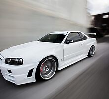 Nissan Skyline R34 GT-R Z Tune by Jan Glovac Photography