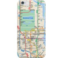 MTA Subway Map iPhone Case iPhone Case/Skin