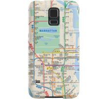 MTA Subway Map iPhone Case Samsung Galaxy Case/Skin