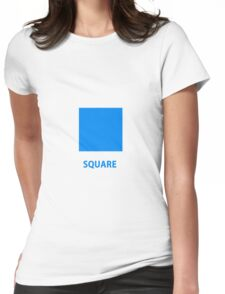 Square  Womens Fitted T-Shirt