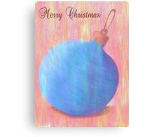 Merry Christmas 1 Canvas Print