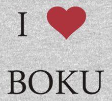 I <3 Boku Shirt, (I love me)  case, stickers One Piece - Long Sleeve