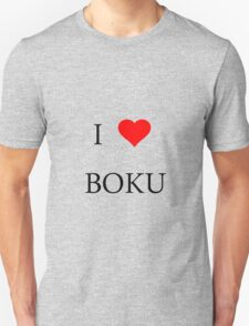 I <3 Boku Shirt, (I love me)  case, stickers T-Shirt