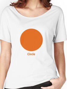 Simple Circle  Women's Relaxed Fit T-Shirt