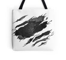 Batman BvS Logo Ripped Tote Bag