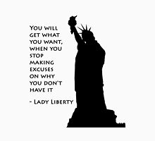 Lady Liberty quote  Unisex T-Shirt