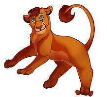 The Lion King cub  by XserzusTJ