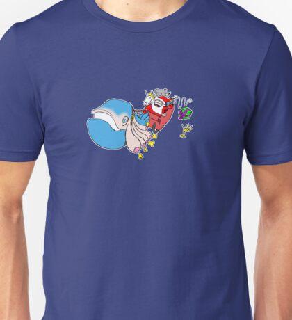 Skywhale Sleigh Unisex T-Shirt