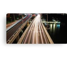 Multiple Exposure   Pacific Motorway Canvas Print