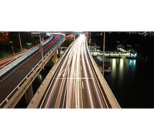 Multiple Exposure   Pacific Motorway Photographic Print