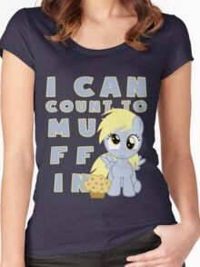I can muffin - Derpy Women's Fitted Scoop T-Shirt