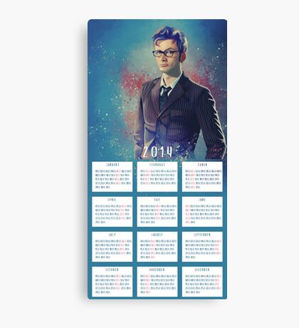 One Year With The DOCTOR! Canvas Print
