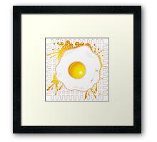 Fried_Egg Framed Print