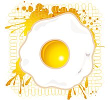 Fried_Egg Photographic Print