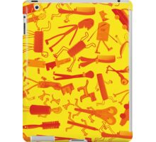 ipad yellow party iPad Case/Skin