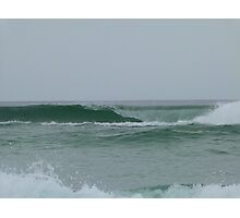 Perfect Waves at Greenmount Beach. Photographic Print