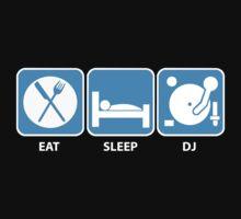 Eat Sleep DJ Kids Tee